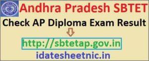 AP SBTET Diploma Exam Result 2019 AP Diploma 2nd/4th/6th Sem April/May Results