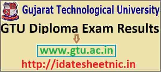 Gujarat GTU Diploma Result 2019, Check Polytechnic Summer Exam Results