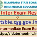 TS Inter Exam Result 2021 Name Wise
