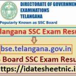 Telangana Board SSC Result 2021