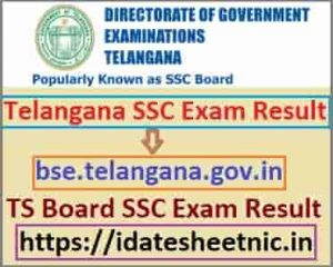 Telangana Board SSC Result 2021