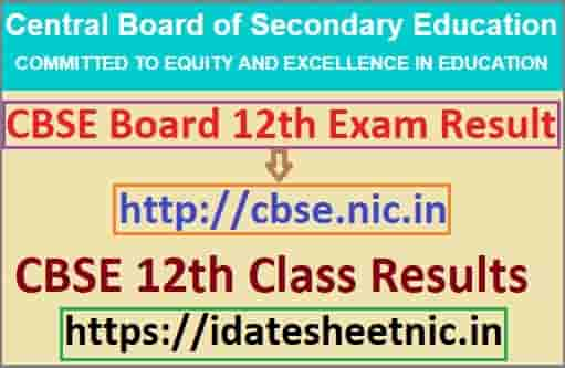 CBSE Board 12th Result 2021 Name Wise