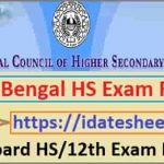 WB Board HS Exam Result 2021 Name Wise