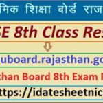 Rajasthan Board 8th Exam Result 2021