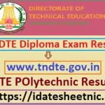 TNDTE Diploma Exam Result 2020
