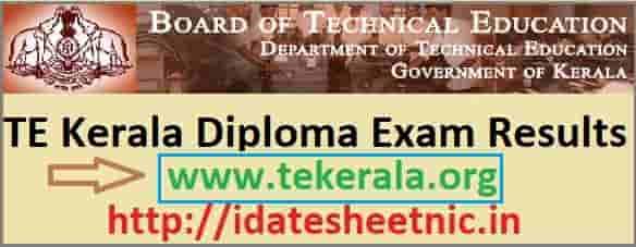 TE Kerala Result 2021