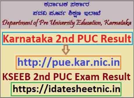 Karnataka 2nd PUC Result 2021 Name Wise