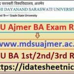 MDSU BA Exam Result 2021