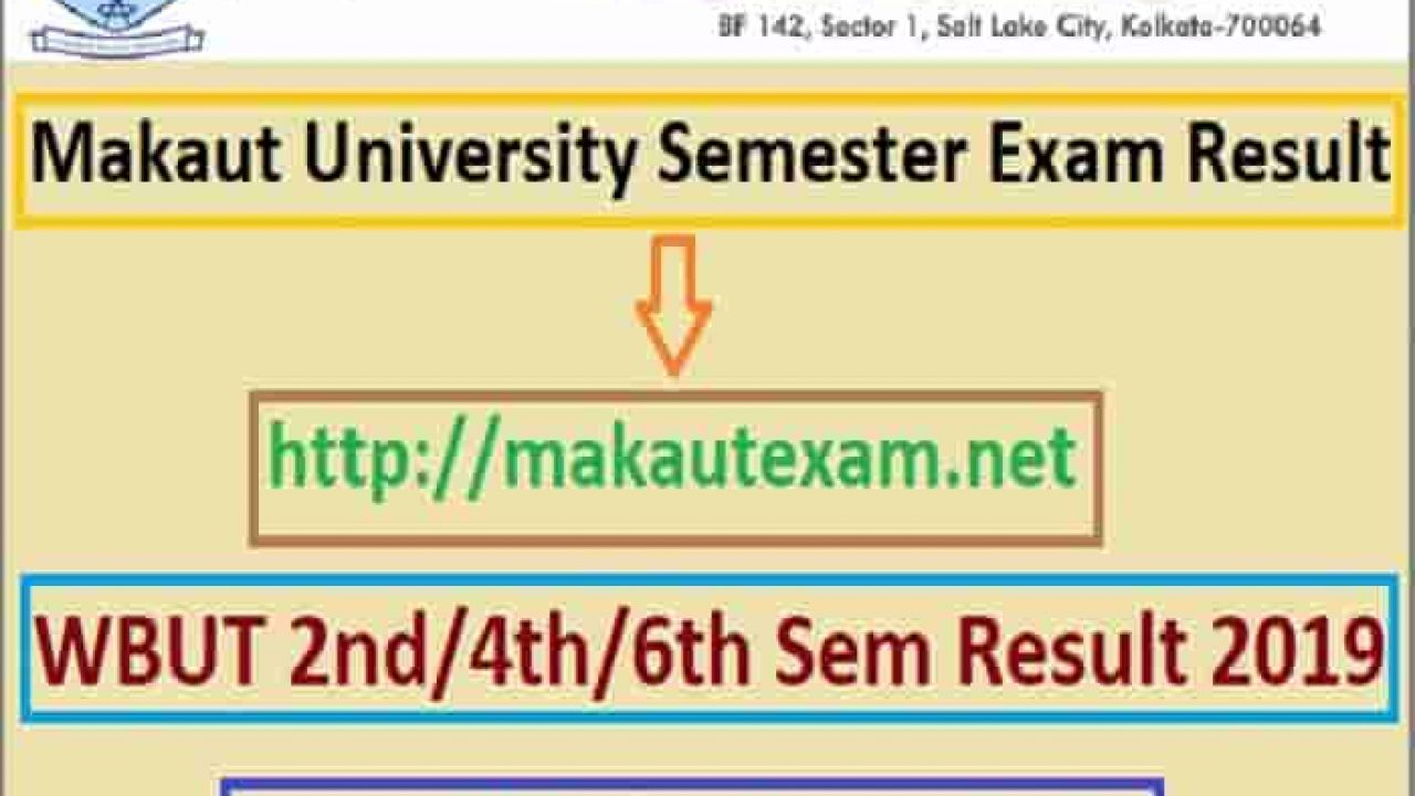 Semester Exam Result