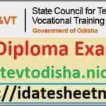 SCTEVT Diploma Exam Result 2021
