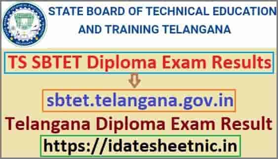 TS SBTET Diploma Nov Result 2019-20