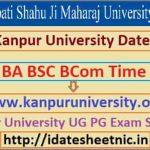 CSJM BA BSc BCom Exam Scheme 2021