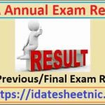 MA Previous/Final Year Result 2021