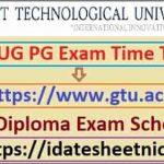 Gujarat GTU Diploma Exam Result 2021