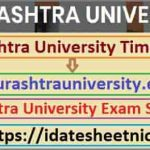 Saurashtra Universiy UG PG Exam Schedule 2021