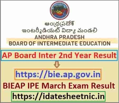 AP Inter 2nd Year Result 2021 Name Wise