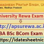 APS University UG PG Result 2020
