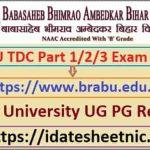 BRABU BA BSc BCom Exam Result 2020