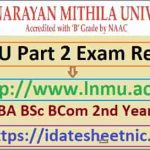 LNMU BA BSc BCom Part 2 Result 2020