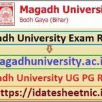 Magadh University BA BSc BCom Result 2021