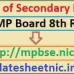 MP Board 8th Class Result 2021