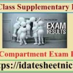 12th Class Supplementary Result 2020