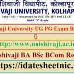 Shivaji University UG PG Exam Result 2020