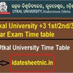 UUEMS BA BSc BCom Exam Schedule 2021