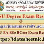 ANU UG PG Degree Exam Result 2020