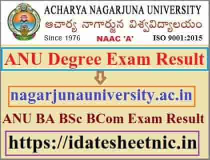 ANU Degree Result 2021