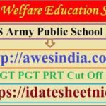 AWES Army Public School Result 2020