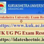 Kurukshetra University UG PG Exam Result 2020