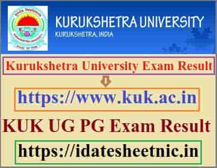 Kurukshetra University Result 2020