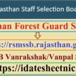 Rajasthan Forest Guard Syllabus 2020