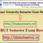 Makaut UG PG Exam Result 2021