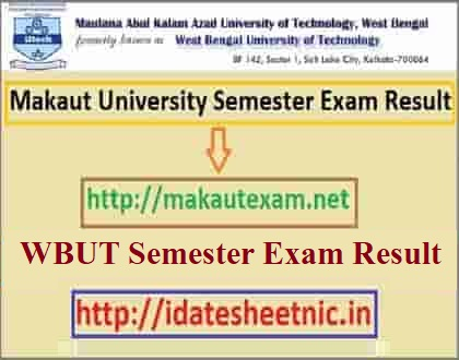 Makaut Result 2021 Name Wise