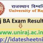 RU BA Part 1/2/3 Exam Result 2021