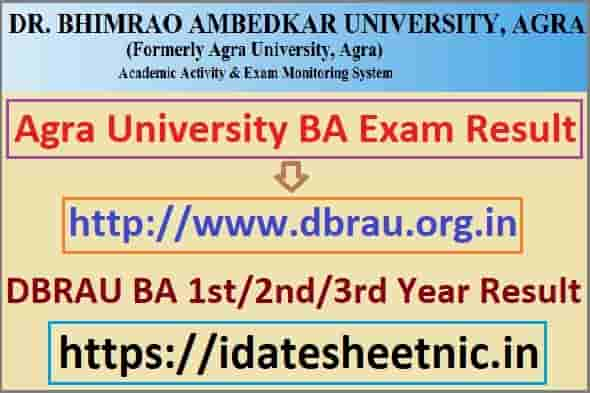 DBRAU BA Part 1/2/3 Exam Result 2021