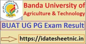 BUAT BSc MSc Agriculture Result 2021
