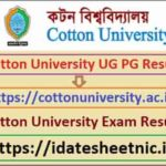 Cotton University BA BSc BCom Result 2021