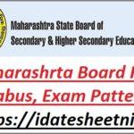 Maharashtra HSC Exam Syllabus 2022