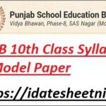 PSEB 10th Class Syllabus 2022